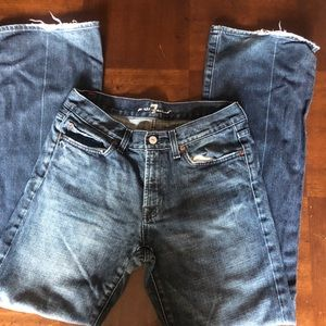 7FAMK 7 for all mankind jeans size 31 inseam 31.5